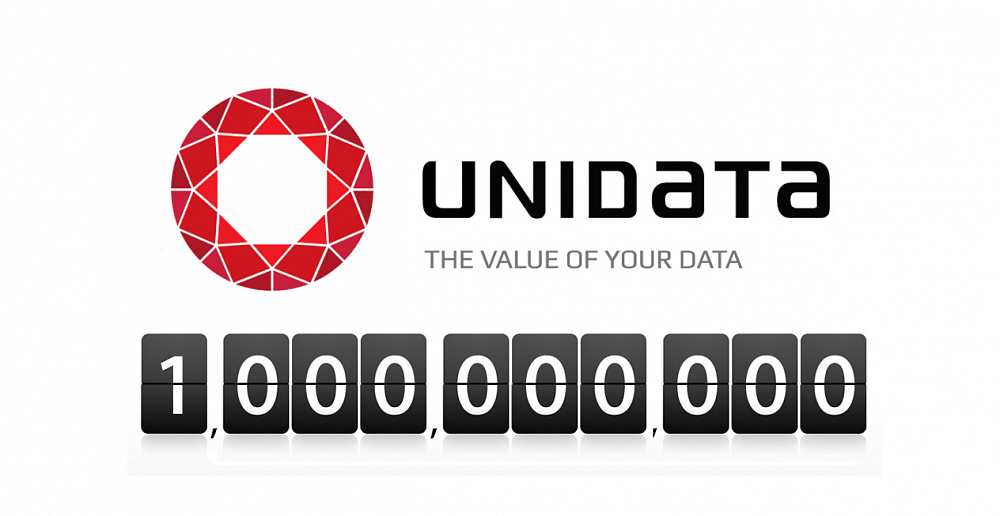 Unidata has reached the productivity of a billion records